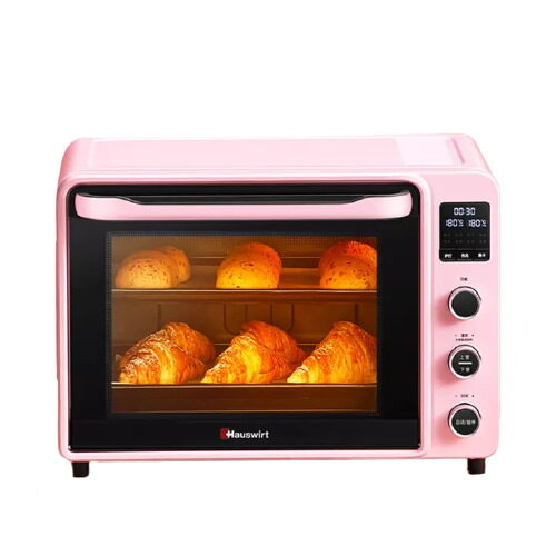 hauswirt 40L electric oven pink color