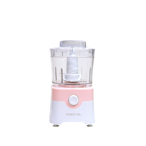 mistral mini food processor pink color
