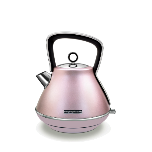 pink color morphy richards electric kettle