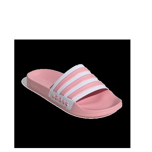 pink adidas swim adilette slip on