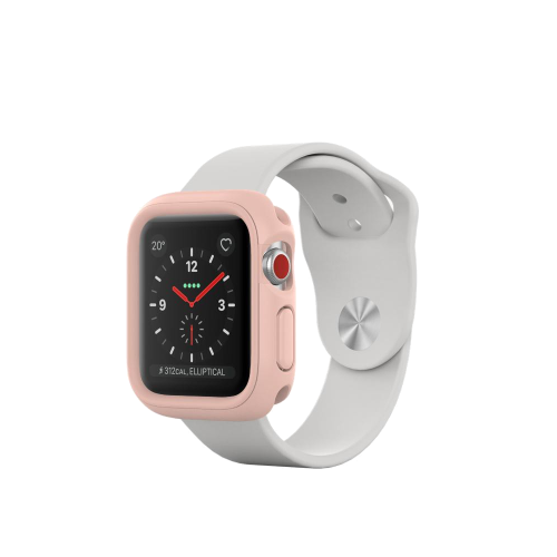 pink apple watch rhino crash guard