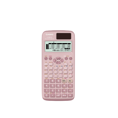 pink casio fx991 scientific calculator