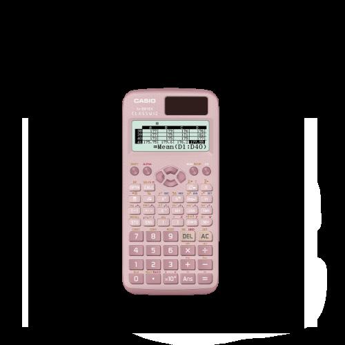 pink casio fx991 scientific calculator