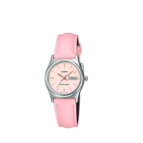 pink casio ladies LTP-V006L-4B