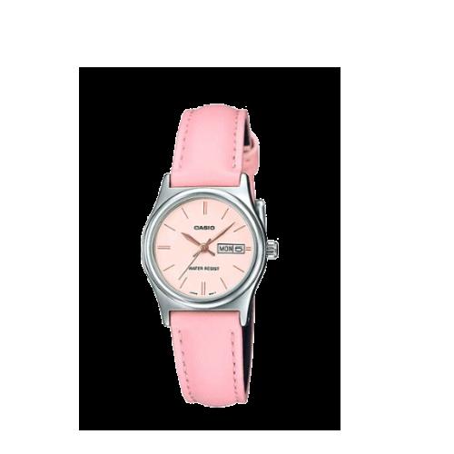 pink casio ladies LTP-V006L-4B