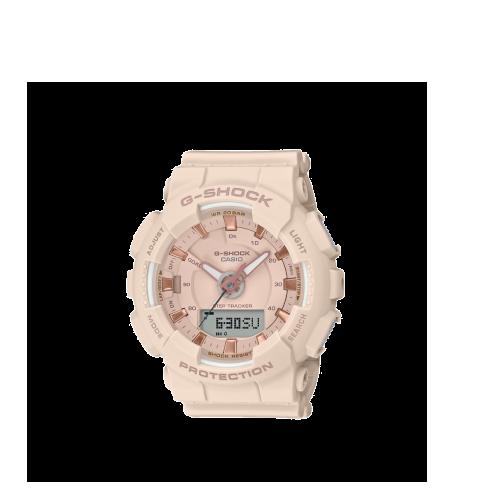 pink g-shock sports watch