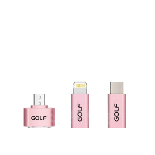 pink golf OTG Adapter