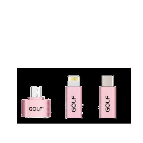 pink golf OTG Adapter