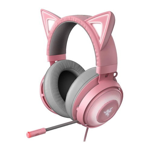 pink headset razer kitten edition