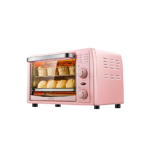 konka pink mini electric oven