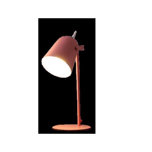 modern led desk lamp pink color
