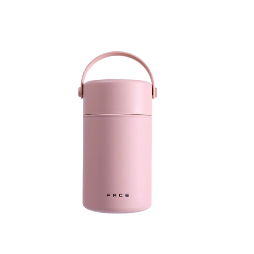 pink thermal food jar