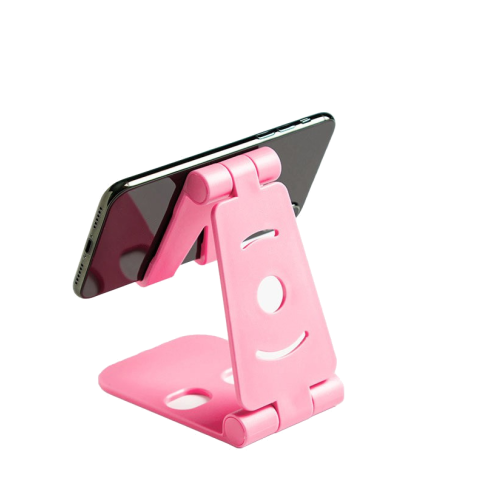 pink universal foldable phone stand