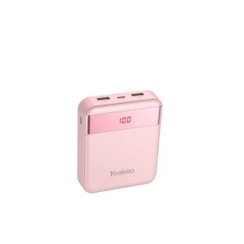 yoobao power bank 10000mAh pink color